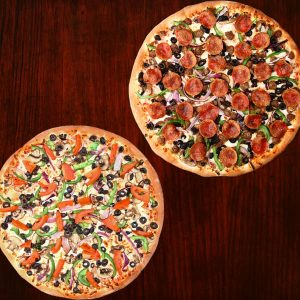 2 Large Pizza Special
